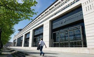 Le ministère de l'économie, des finances et du commerce extérieur rue de Bercy dans le 12e arrondissement à Paris.