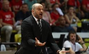 Zvezdan Mitrovic, alors entraineur de l'Asvel, l'année dernière. (archives)
