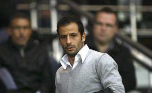 Ludovic Giuly le 18 octobre 2008.Al'époque, il évoluait au PSG.