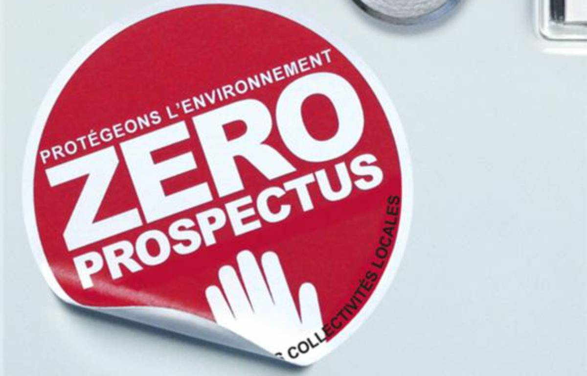 """Le logo de la campagne """"Zéro prospectus"""" de E.Leclerc. – E.LECLERC"""