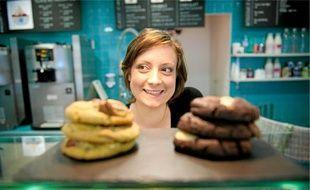 Laura Petit se dit «dresseuse de cookies». Ils n'ont qu'à bien se tenir.