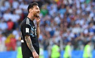 Leo Messi n'est pas parvenu à trouver la solution face à l'Islande