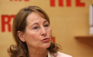 Ségolène Royal, le 10 mai 2017, au micro de RTL.
