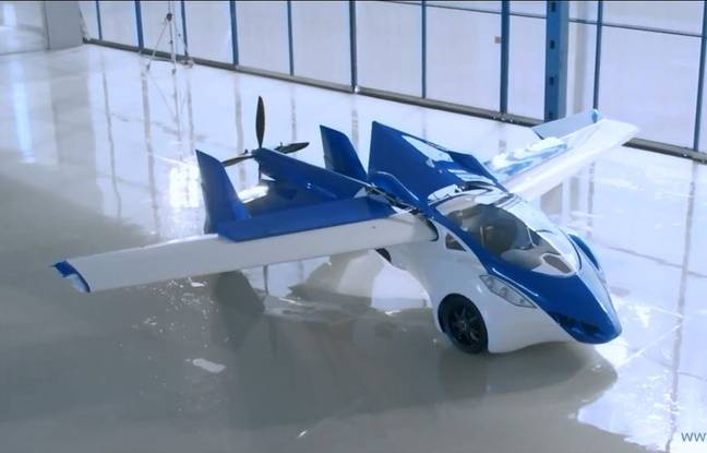 video aeromobil la premi re voiture volante. Black Bedroom Furniture Sets. Home Design Ideas