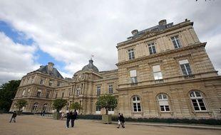 Vue du palais du Luxembourg, où siège le Sénat.