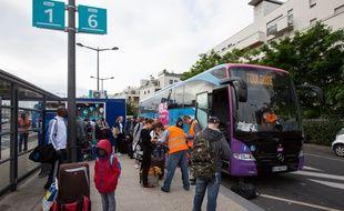 Un autocar assurant la liaison Paris-Toulouse (Illustration).