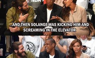 Jake Gyllenhaal, Jay-Z et Beyoncé