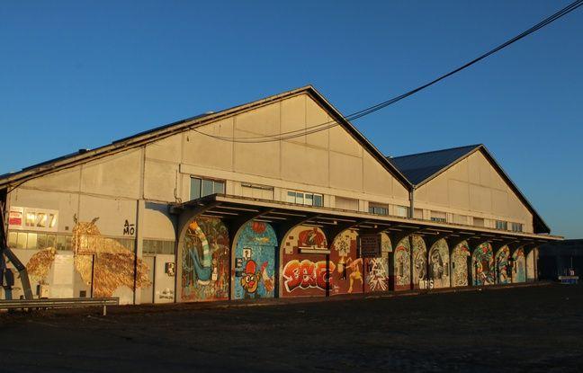 Street Art aux Bassins à Flot à Bordeaux