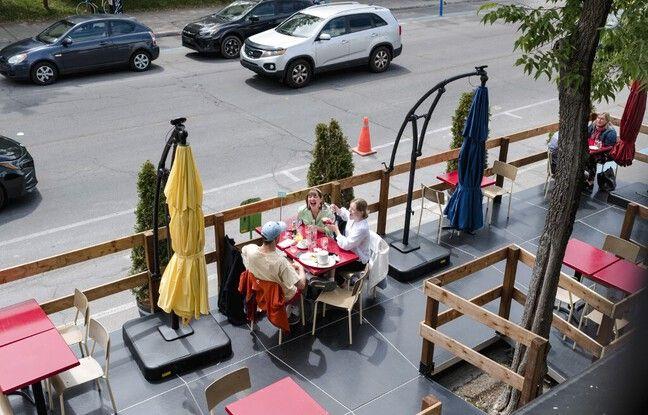 648x415 montreal quebecois brave froid profite reouverture terrasses 28 mai 2021