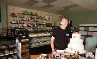 Jack Phillips dans sa pâtisserie « Masterpiece Cakeshop » en banlieue de Denver (Colorado).