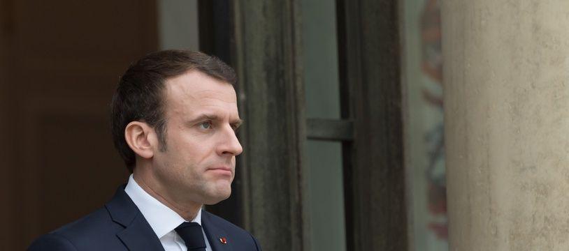 Emmanuel Macron, le 19 février 2019.
