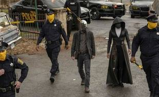 La série « Watchmen » se déroule dans le même univers que le comic culte des années 1980 d' d'Alan Moore et Dave Gibbons.