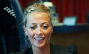 La joueuse de poker belge Coralie Nauder.