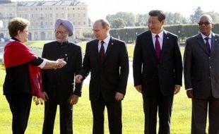 Les Brics se sont présentés jeudi comme les porte-parole des économies émergentes au G20 pour demander aux pays riches d'assumer leurs responsabilités dans la tempête financière qu'elles traversent.