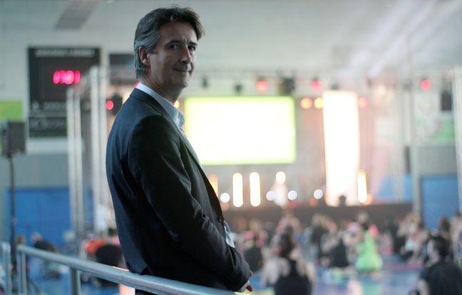 Thierry Marquer, fondateur de l'entreprise de fitness L'Orange Bleue.