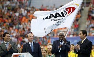 Le scandale de corruption touche la Fédération internationale d'athlétisme qui avait organisé les Mondiaux à Moscou en 2013.