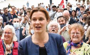 Léonore Moncond'huy, maire EELV de Poitiers (Vienne)