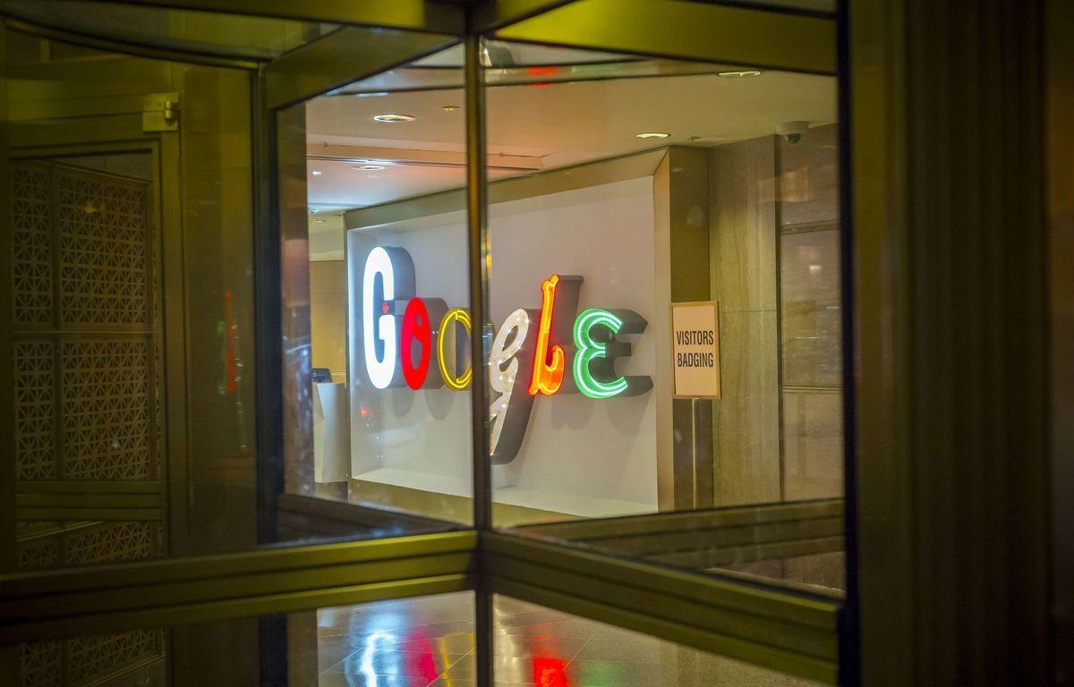Le siège de Google à New York, le 9 septembre 2017. – Richard B. Levine/NEWSCOM/SIPA