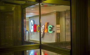Le siège de Google à New York, le 9 septembre 2017.