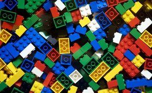 Illustration de briques Lego