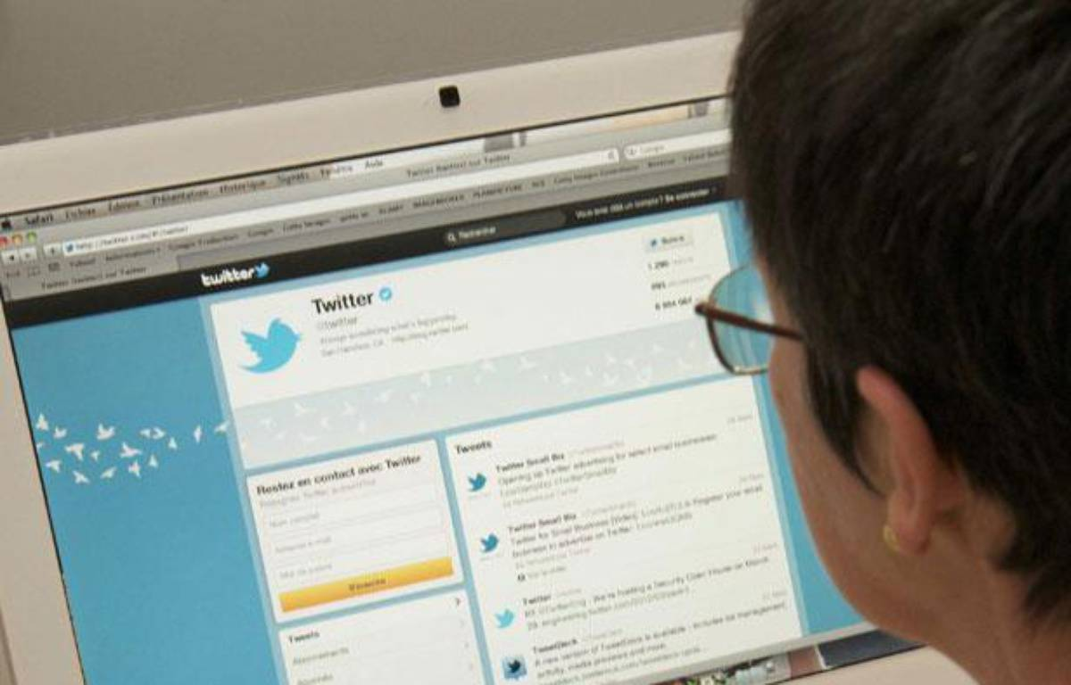 Twitter, un outil de microblogging de plus en plus utilisé par les politiciens – JAUBERT/SIPA
