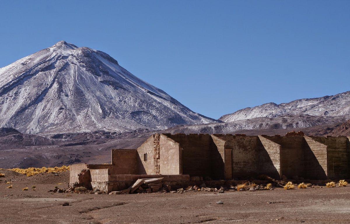 Le campement minier Saciel dans le désert d'Atacama au Chili. – Nicolas Richard / CNRS
