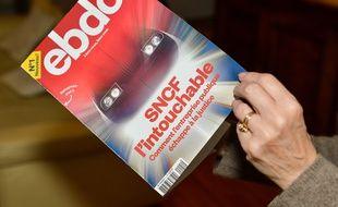 Le premier numéro du magazine «Ebdo».