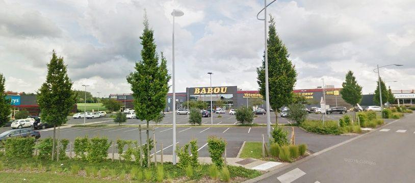 L'enseigne Babou, à Bruay-La Buissière.