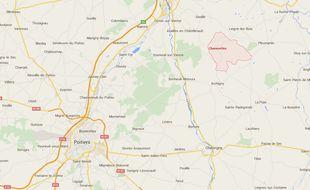 La victime habite à Chenevelles, près de Châtellerault.