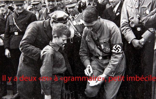 Hitler, ce GrammarNazi