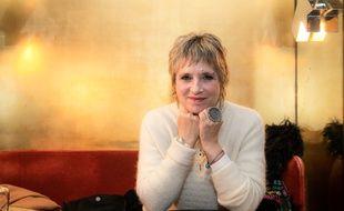 L'écrivaine Eve Ensler le 7 janvier au Café français, à Bastille (Paris).