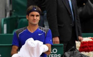 Roger Federer, le 15 avril 2011 à Monte-Carlo