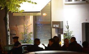 La bijoutierie de Sézanne (Marne) le 28 novembre 2013.