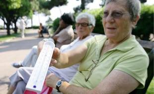 En cas de grosses chaleurs, les publics les plus fragiles restent les personnes âgées.