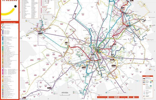 Le nouveau réseau de bus de la métropole lilloise sera effectif à partir du 28 janvier