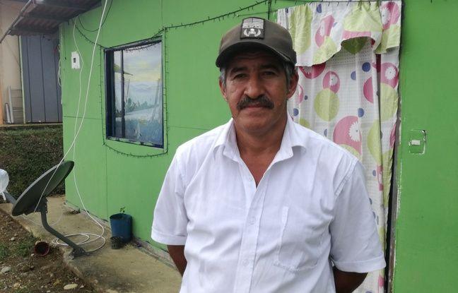 Manuel Alfonso, 53 ans, a passé 37 ans dans les rangs des Farc. Aujourd'hui, il vit au campement de Monterredondo en Colombie où il est formé à un métier pour retourner à la vie civile.