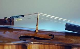 Le violon vieux de 310 ans a été oublié dans un train reliant Londres à Orpington. (Illustration).