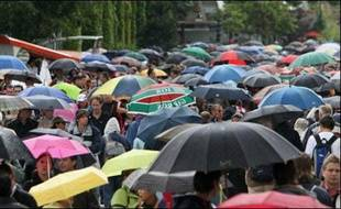 Un gros embouteillage est à prévoir à Roland-Garros après une deuxième journée de nouveau gâchée par la pluie lundi.