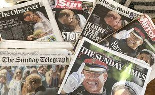 Au lendemain de la cérémonie, impossible de passer à côté du mariage de Meghan Markle et du prince Harry pour la presse britannique.