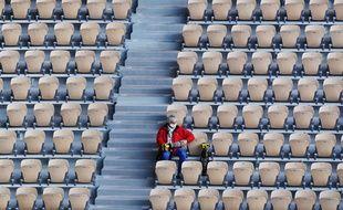 Durant le tournoi de Roland Garros, le 9 octobre 2020.
