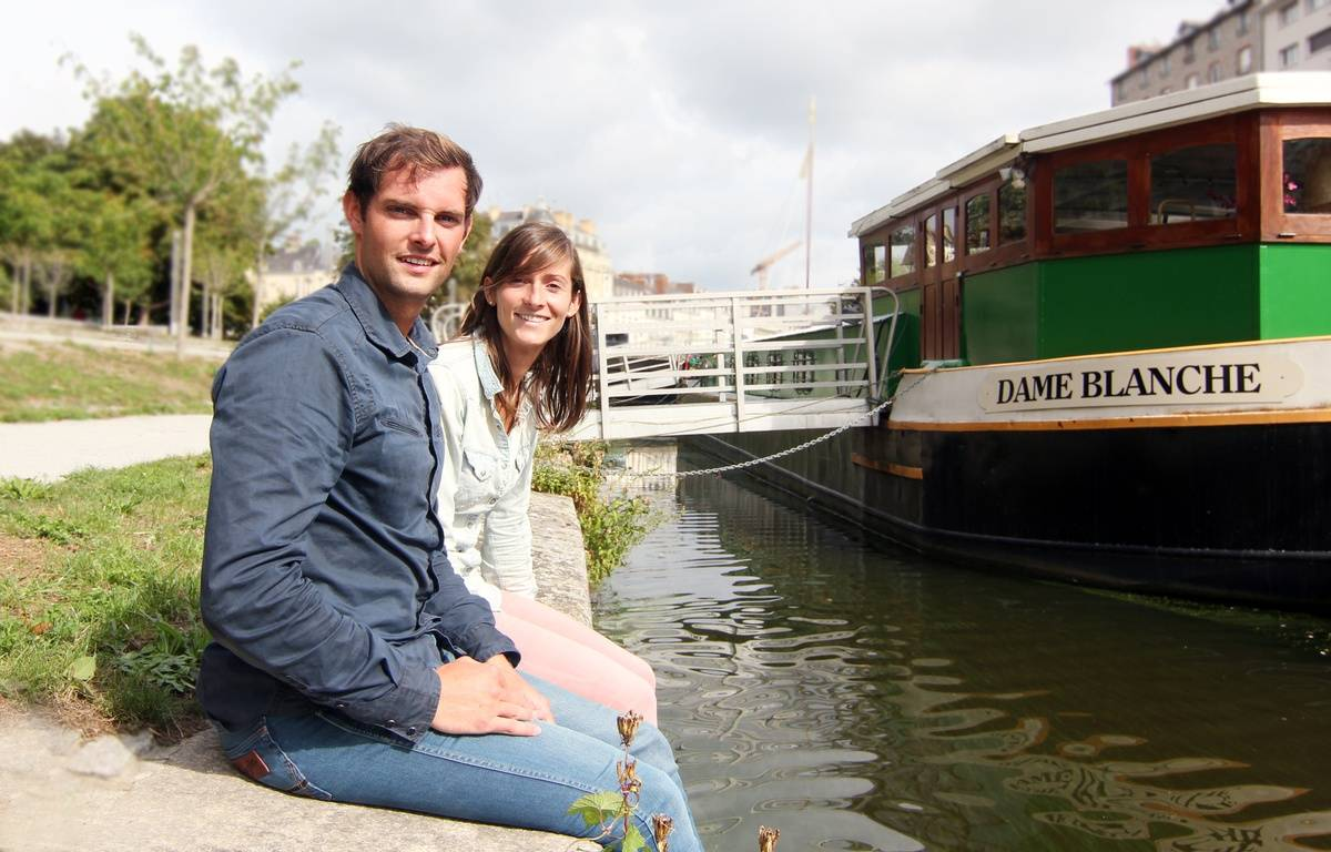 Marie Guinard et Antoine Pottier veulent ouvrir une boutique Maloan, où ils proposeront de la bière pression type craftbeer en canettes. – C. Allain / APEI / 20 Minutes