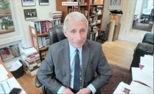 Le docteur Anthony Fauci a répondu aux questions des élus américains sur le coronavirus, le 12 mai 2020.