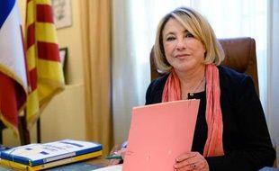 Maryse Joissains-Masini (UMP), maire UMP d'Aix-en-Provence, le 15 novembre 2013.