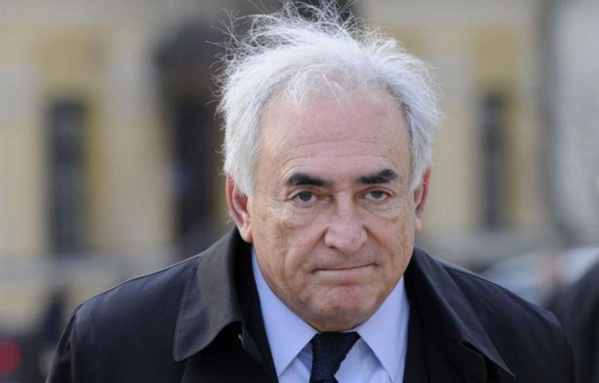 Dominique Strauss-Kahn àkiev, le 4 avril 2012. – Sergei Chuzavkov/AP/SIPA