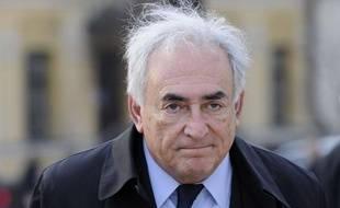 Dominique Strauss-Kahn àkiev, le 4 avril 2012.
