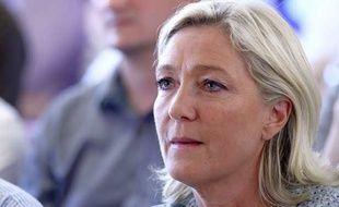 Marine Le Pen à Fréjus le 7 septembre 2014.