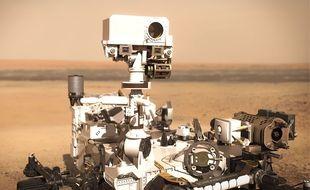 SuperCam est installé sur le rover Perseverance.