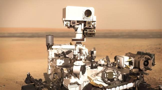 Perseverance : Entre tir laser et son du vent martien, SuperCam réussit ses premiers pas - 20minutes.fr