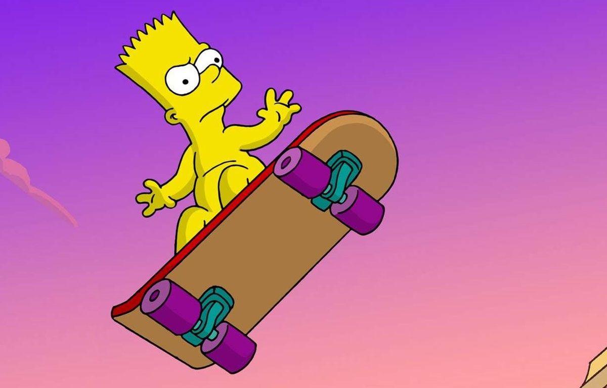 Un youtubeur a testé une expérience faite par Bart Simpson – Rex Features/REX/SIPA