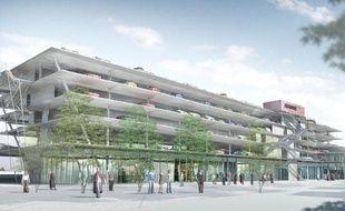 Le projet de nouvelle gare SNCF à Bordeaux Saint-Jean, côté Belcier